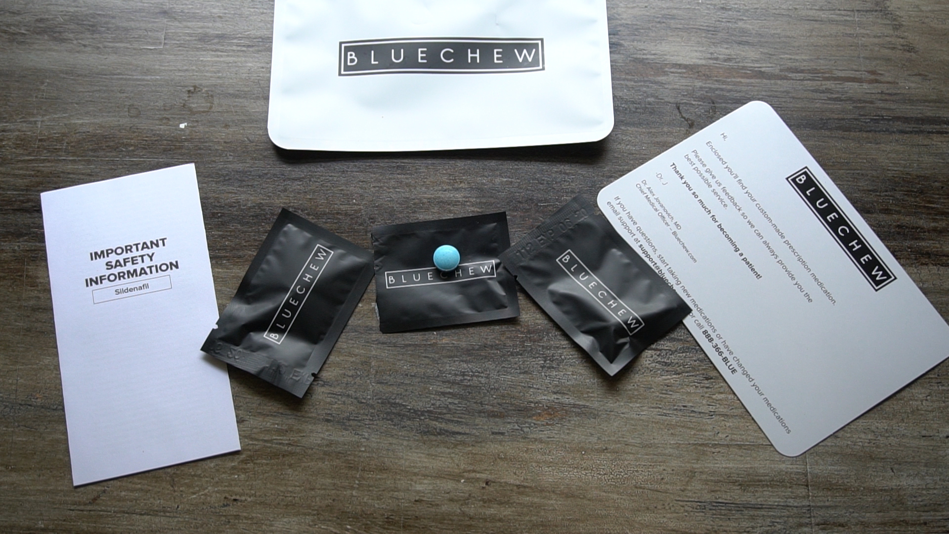 Bluechew Is An Online Service To Connect Patients